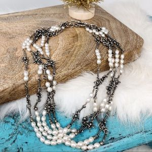 Silpada Freshwater Pearl Sterling Necklace N1214